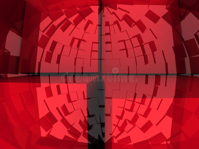 fondo abstracto 3d ilustración del vector