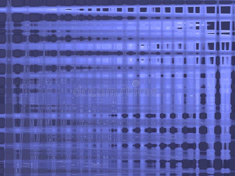 Fondo abstracto azul imagenes de archivo