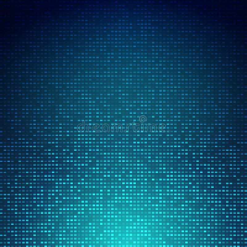 Fondo abstracto azul ilustración del vector