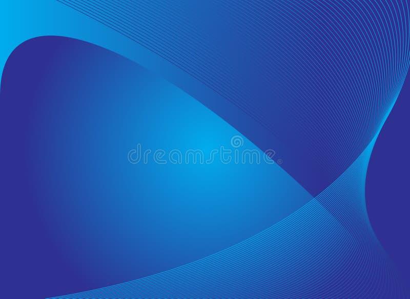 Fondo abstracto azul libre illustration