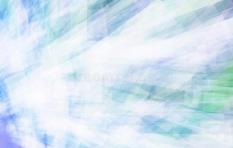 Fondo abstracto azul claro Gráficos de vector ilustración del vector