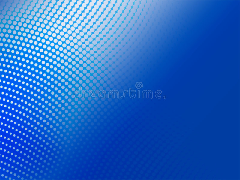 Fondo abstracto azul de semitono libre illustration