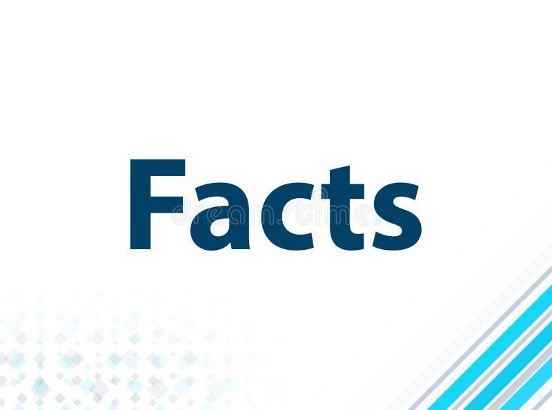 Fondo abstracto azul del diseño plano moderno de los hechos ilustración del vector