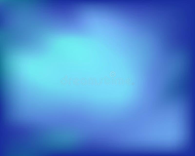 Fondo abstracto azul del vector del gradiente Ilustración del vector ilustración del vector