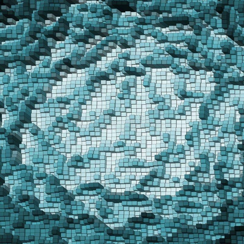 Fondo abstracto azul. EPS 8 ilustración del vector