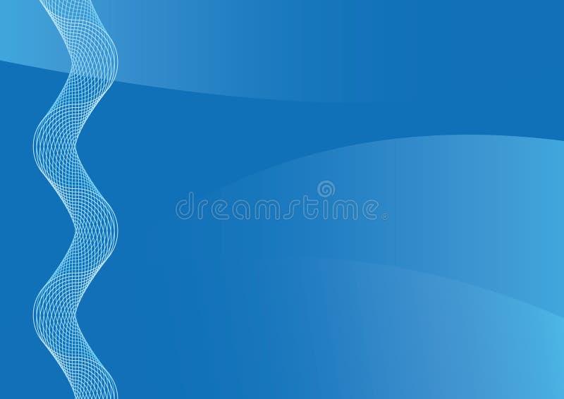 Fondo abstracto azul para la presentación ilustración del vector