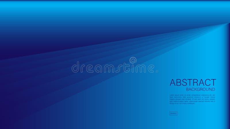Fondo abstracto azul, polígono, vector geométrico, textura gráfica, mínima, diseño de la cubierta, plantilla del aviador, ba ilustración del vector