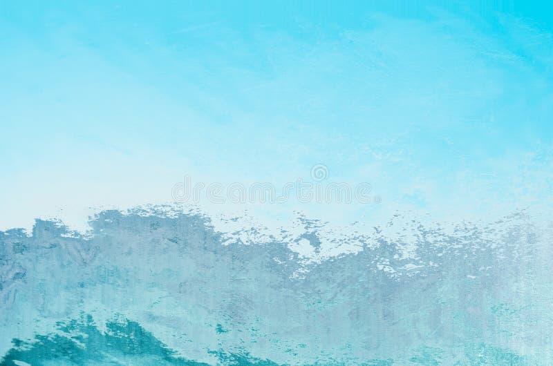 Fondo abstracto azul y blanco fotografía de archivo libre de regalías