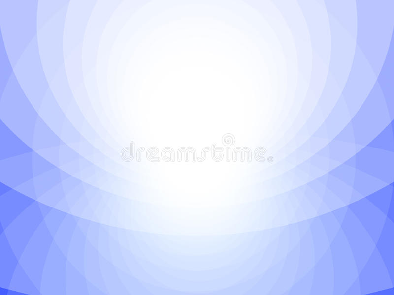 Fondo abstracto azul y blanco, círculos libre illustration