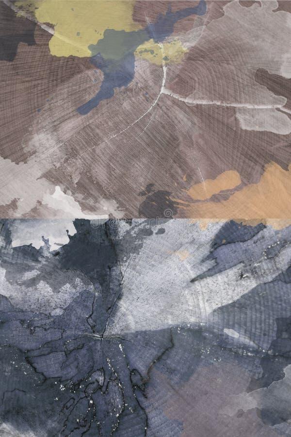 Fondo abstracto, BITMAP, generada por ordenador Textura de madera, manchas fotos de archivo