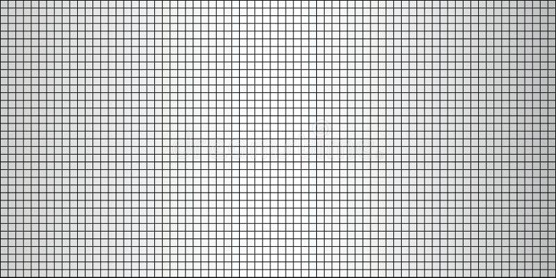 Fondo abstracto blanco brillante del mosaico stock de ilustración