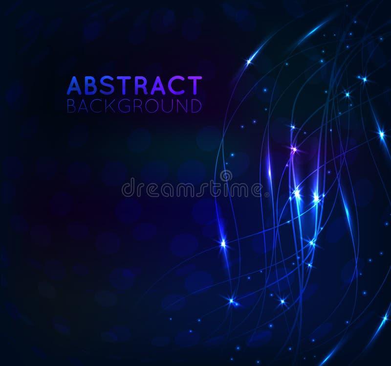 Fondo abstracto brillante libre illustration