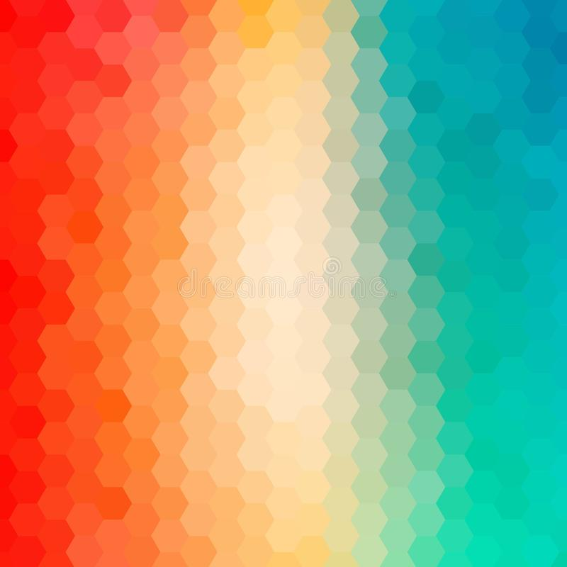 Fondo abstracto brillantemente coloreado Ilustraci?n del vector EPS 10 libre illustration