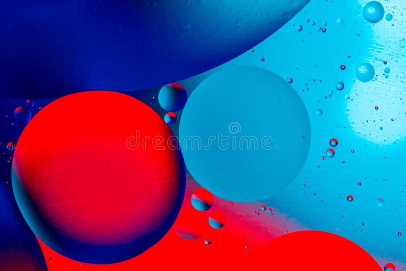 Fondo abstracto c?smico del universo del espacio o de los planetas Estructura abstracta del ?tomo de la mol?cula Burbujas del agu imagen de archivo