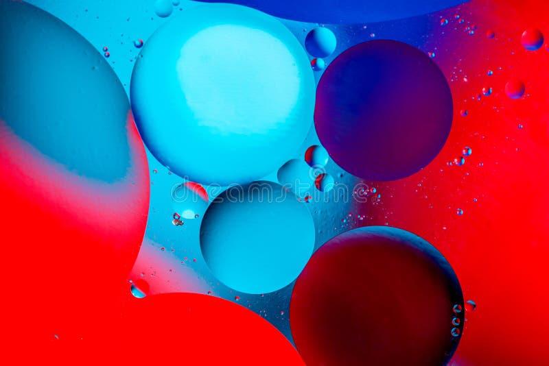Fondo abstracto c?smico del universo del espacio o de los planetas Sctructure abstracto del ?tomo de la mol?cula Burbujas del agu fotos de archivo