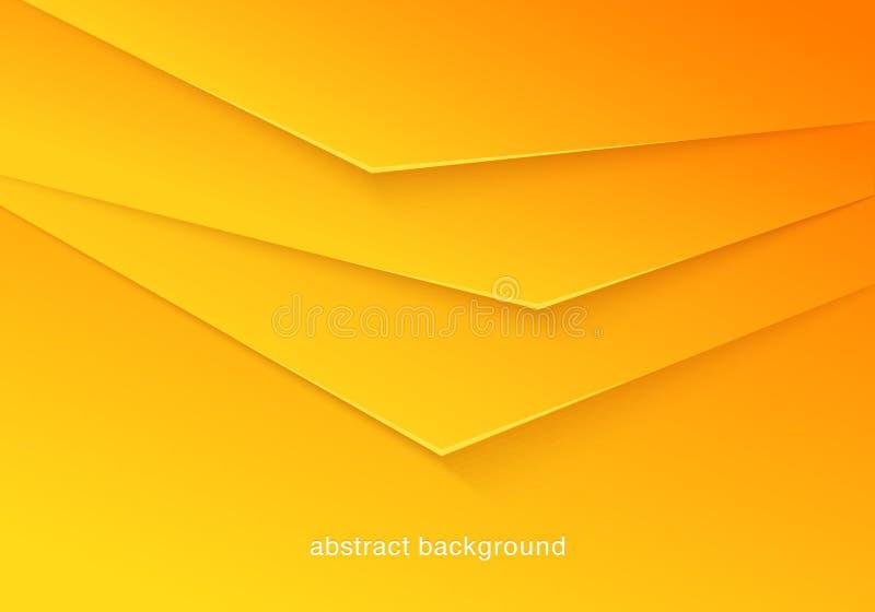 Fondo abstracto coloreado soleado stock de ilustración