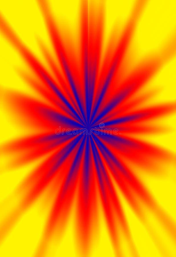 Fondo abstracto coloreado vivo creado Digital libre illustration