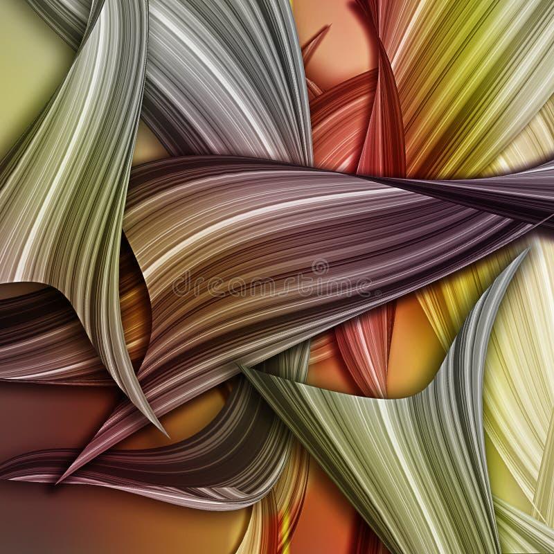 Fondo abstracto colorido del arte ilustración del vector