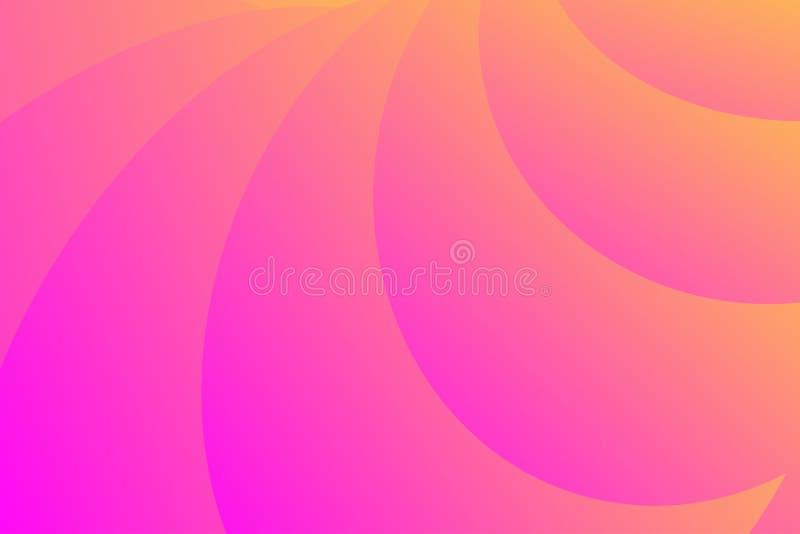 Fondo abstracto colorido del diseño con las curvas imágenes de archivo libres de regalías
