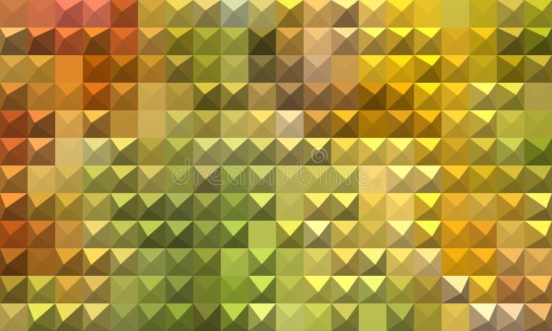Fondo abstracto colorido del mosaico fotografía de archivo