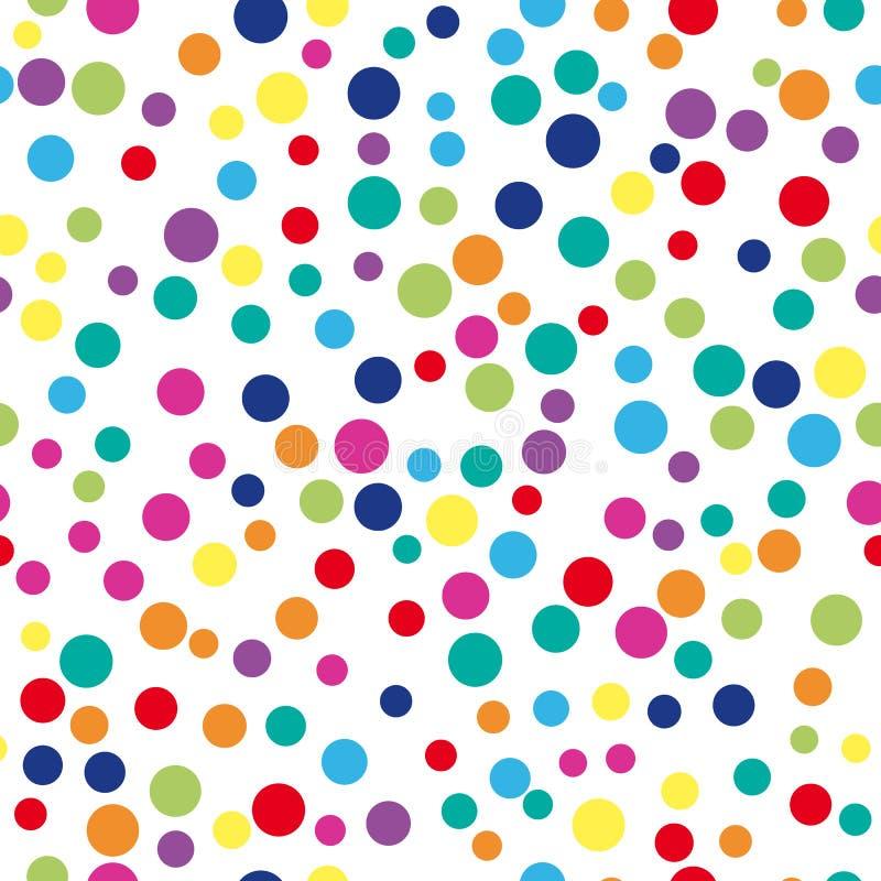 Fondo abstracto colorido del punto stock de ilustración