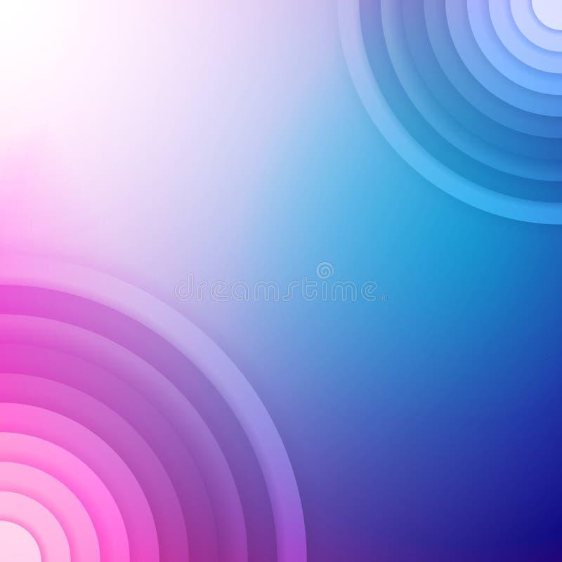 Fondo abstracto colorido. Fondo del vector libre illustration