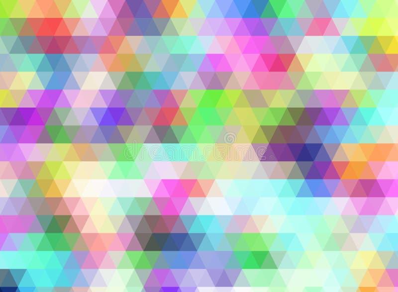 fondo abstracto colorido para el diseño de escritorio del papel pintado o de la página web, plantilla del fondo del extracto del  ilustración del vector