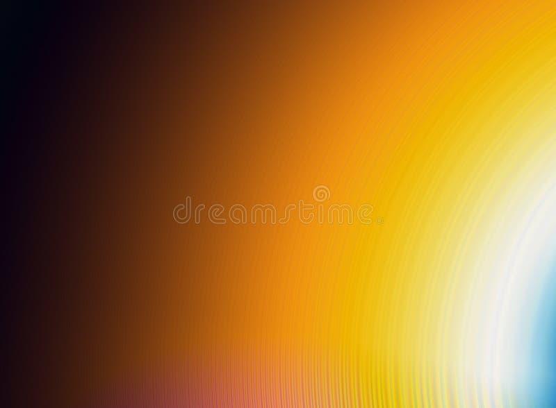 Fondo abstracto con colores calientes de la pendiente libre illustration