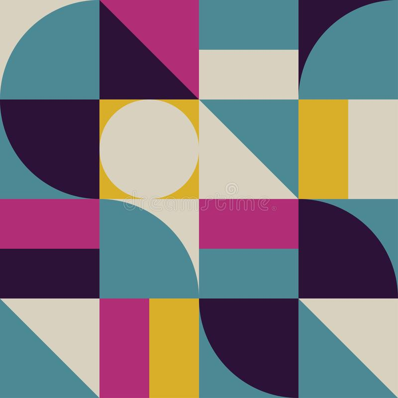 Fondo abstracto con forma de la geometría Gr?fico del modelo Vector libre illustration
