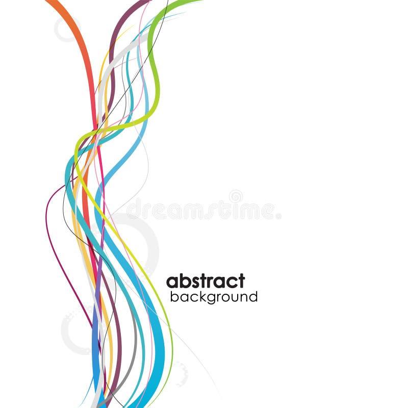 Fondo abstracto con las líneas. libre illustration