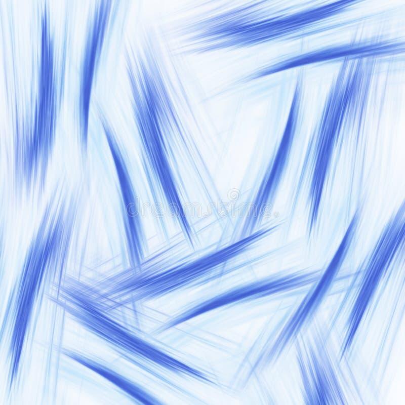 Fondo abstracto con las líneas lisas stock de ilustración