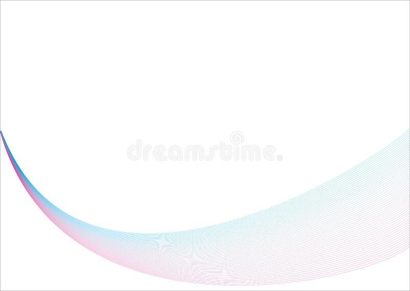 Fondo abstracto con las ondas imagen de archivo libre de regalías