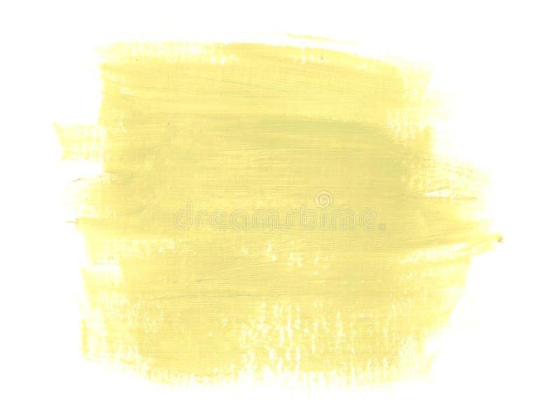Fondo abstracto con las pinturas acrílicas stock de ilustración