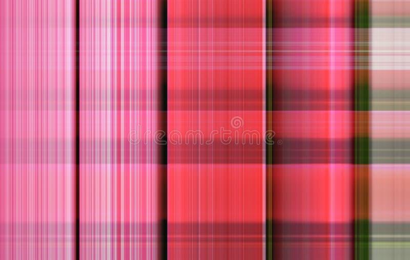 Fondo abstracto con las tiras coloreadas foto de archivo libre de regalías