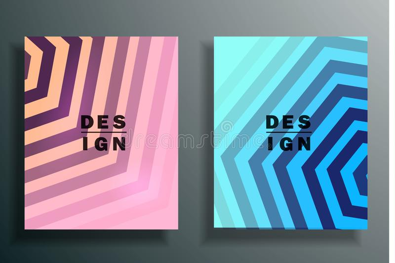 Fondo abstracto con los elementos coloreados, 3d que acoda conjunto libre illustration