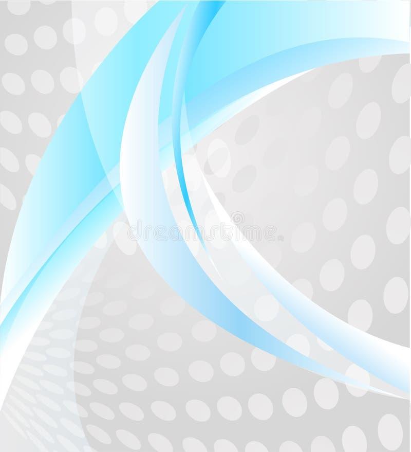 Fondo abstracto con los elementos de líneas y del spo ilustración del vector