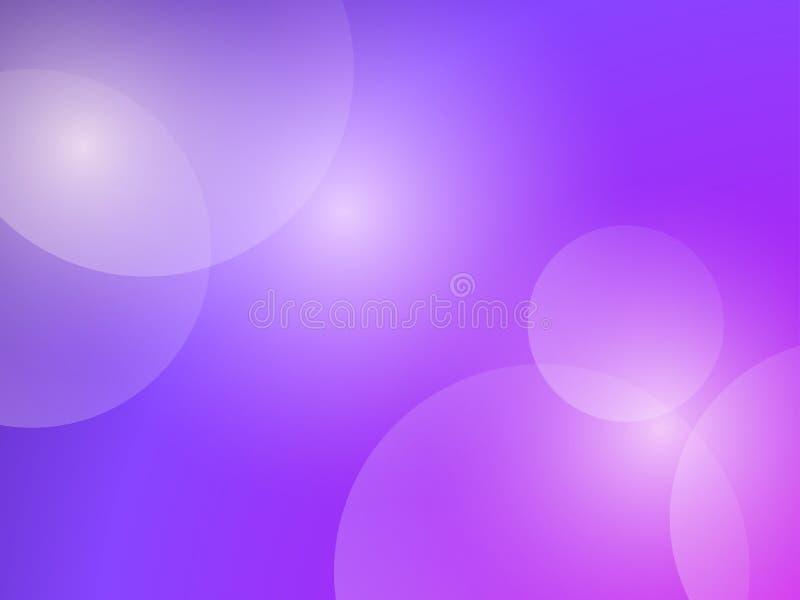Fondo abstracto con pendiente y las luces púrpuras Efecto de Bokeh Vector libre illustration