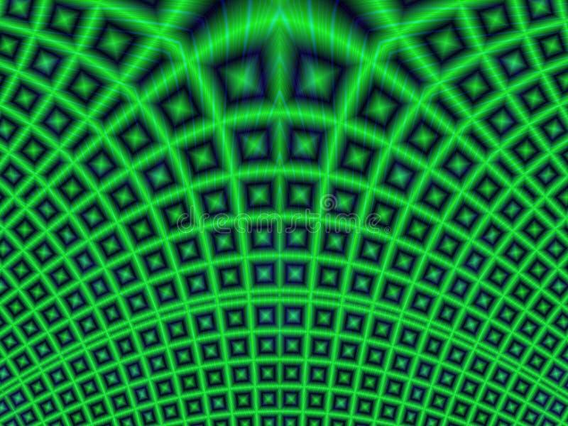 Fondo abstracto con red ilustración del vector