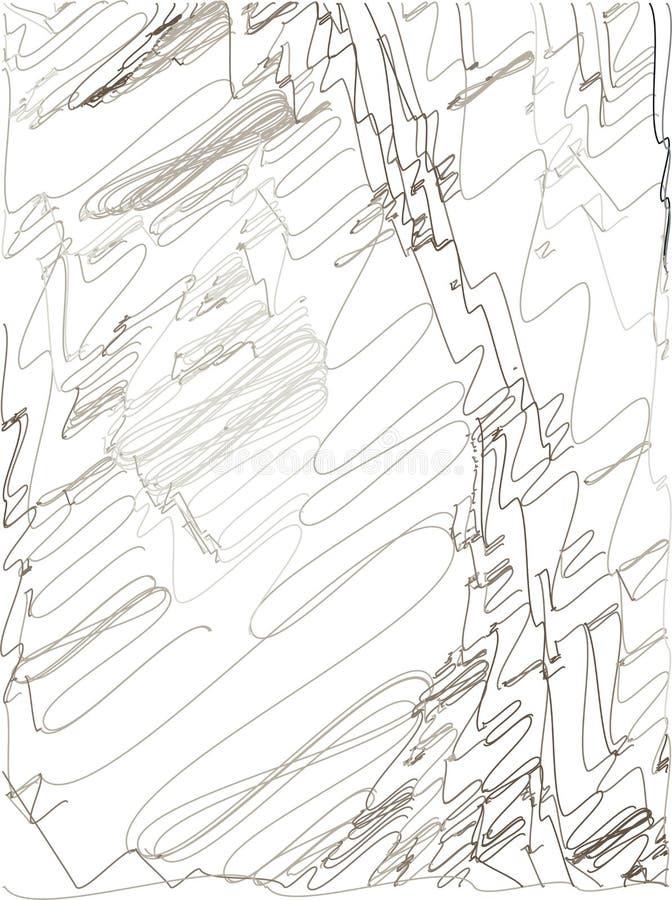 Fondo abstracto con transiciones del color de p?lido - rosa a negro y a gris usando elementos decorativos en el estilo de tramar  ilustración del vector