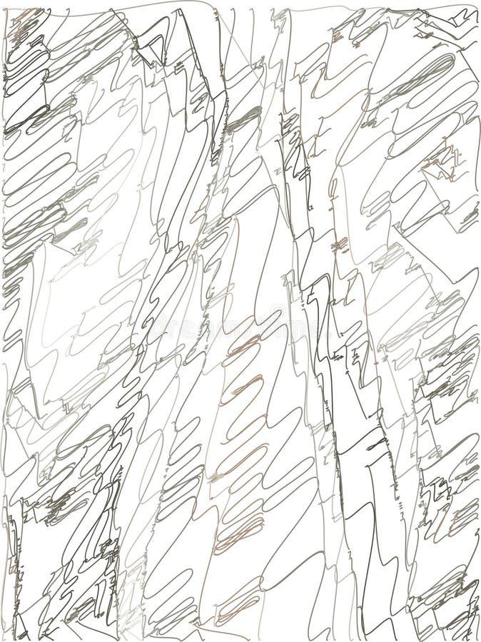 Fondo abstracto con transiciones del color del gris p?lido, cacao al marr?n oscuro usando elementos decorativos en el estilo de l libre illustration