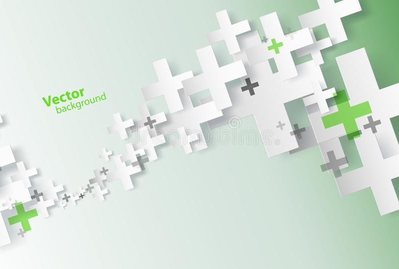 Fondo abstracto creado con las muestras más ilustración del vector
