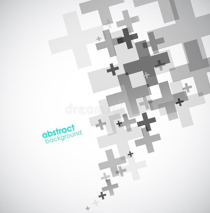 Fondo abstracto creado con las muestras más stock de ilustración
