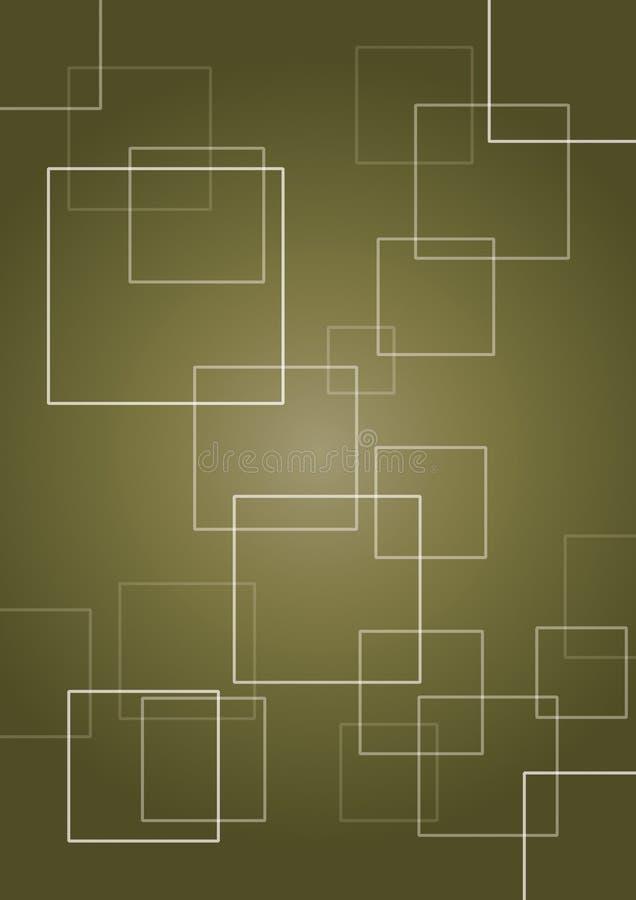 Fondo abstracto cuadrado imagen de archivo libre de regalías