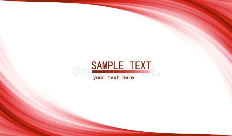 Fondo abstracto de alta tecnología rojo libre illustration