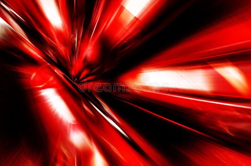Fondo abstracto de alta tecnología rojo ilustración del vector