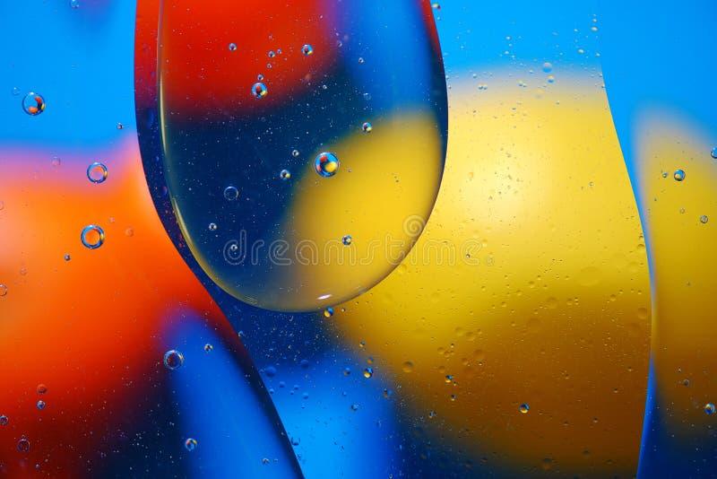 Fondo abstracto de burbujas coloridas foto de archivo libre de regalías