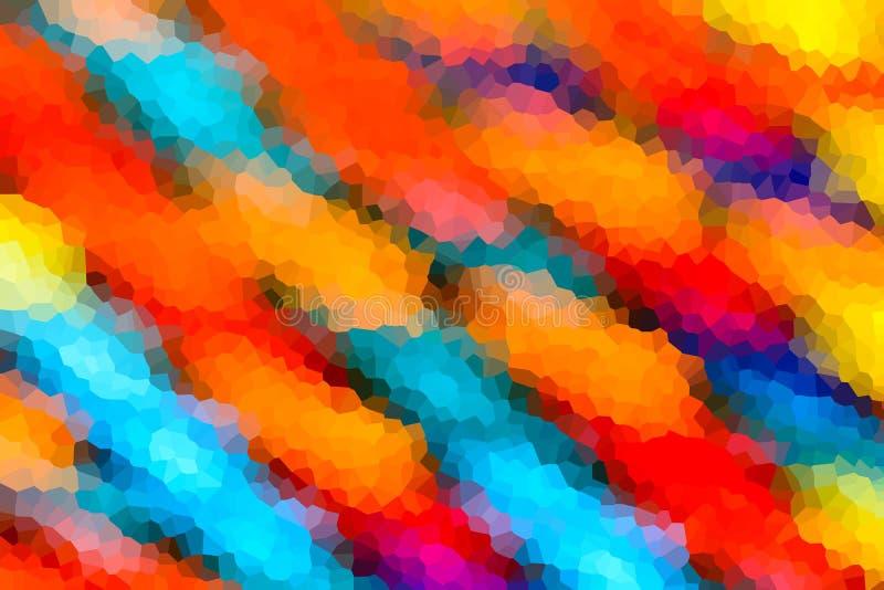 Fondo abstracto de cristalizado foto de archivo