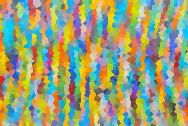 Fondo abstracto de cristalizado imagenes de archivo