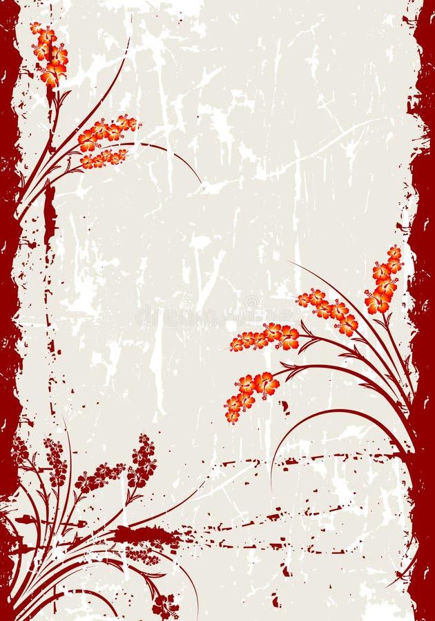 Fondo abstracto de Grunge ilustración del vector