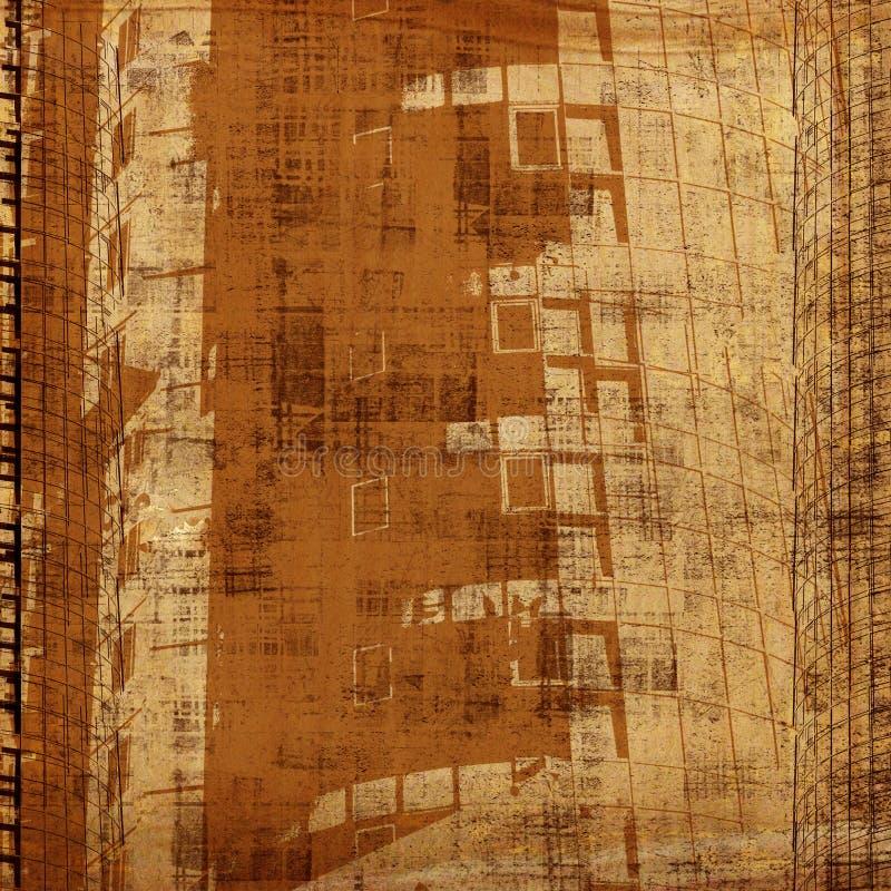 Fondo abstracto de Grunge con imagen del arte libre illustration